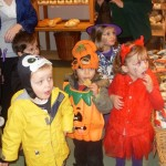 Halloween visit to Gonalston Farm Shop